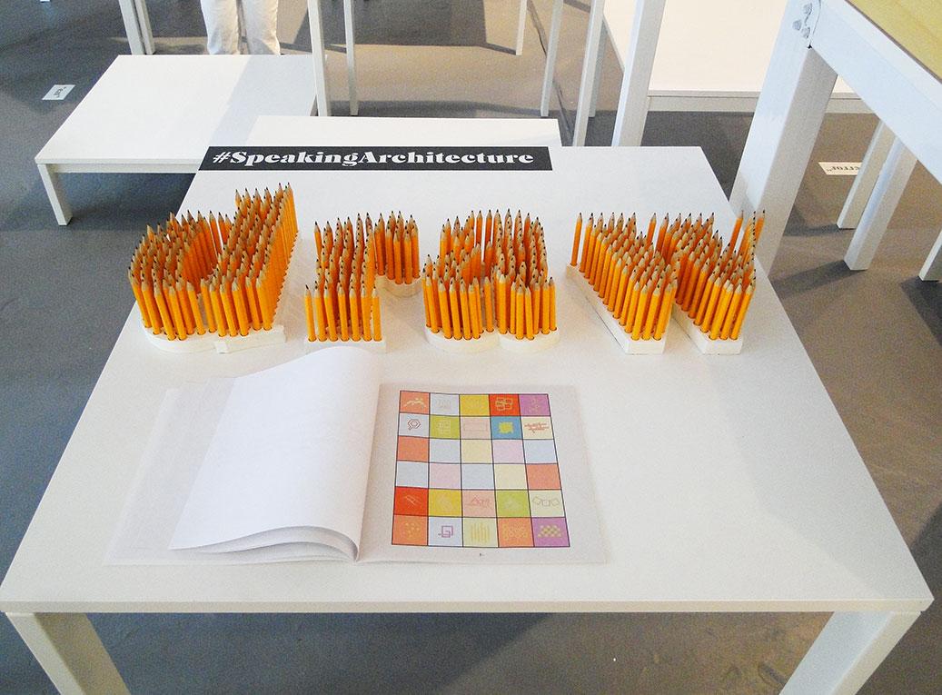 El Equipo de Mazzanti + Nicolás Paris presentó Speaking Architecture (Arquitectura Parlante).