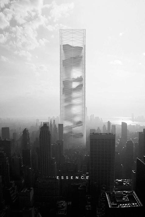 Essential Skyscraper, de BOMP, proyecto ganador 2015.