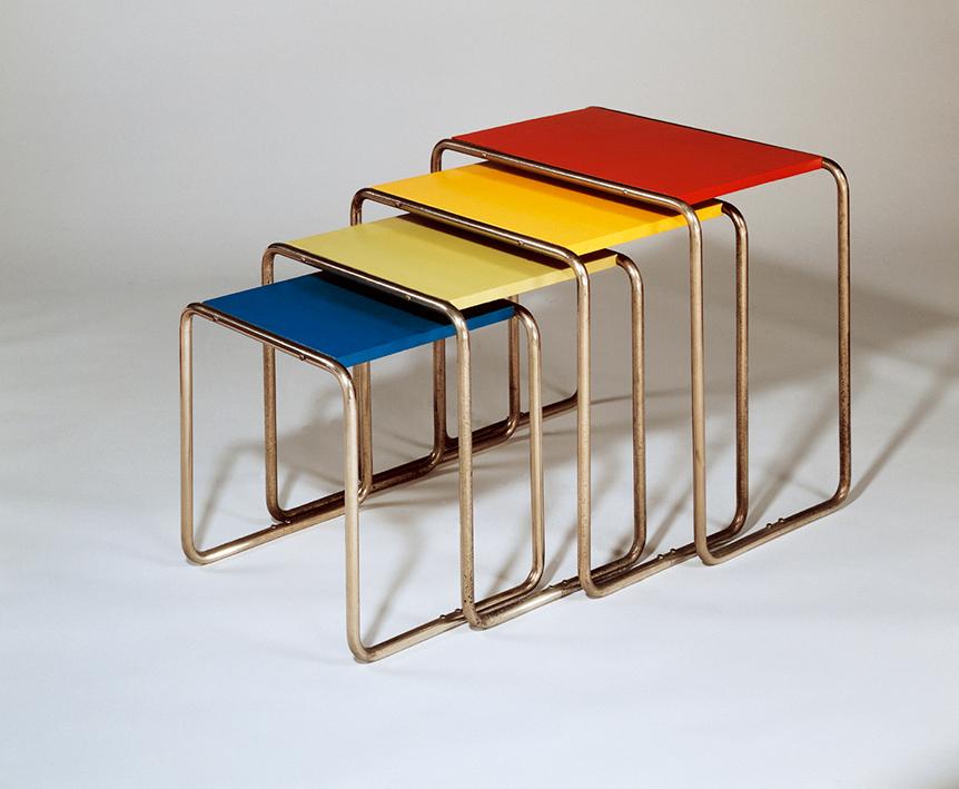 Forma y función eran ideales de la escuela Bauhaus.