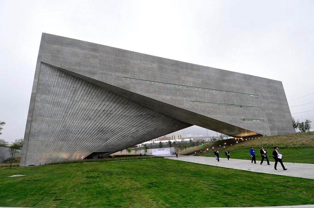 El Centro Roberto Garza Sada, en la Universidad de Monterrey, obra de Tadao Ando.