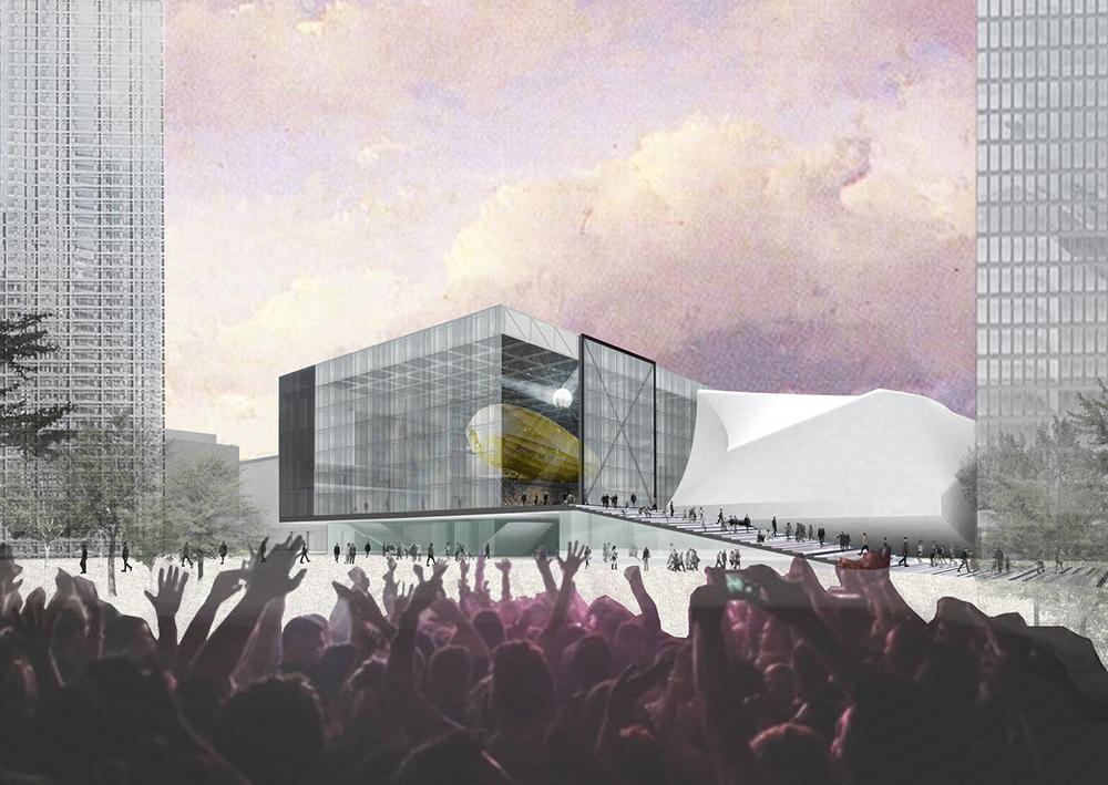 Así será The Factory, diseño de la firma OMA de Rem Koolhaas. Foto: OMA