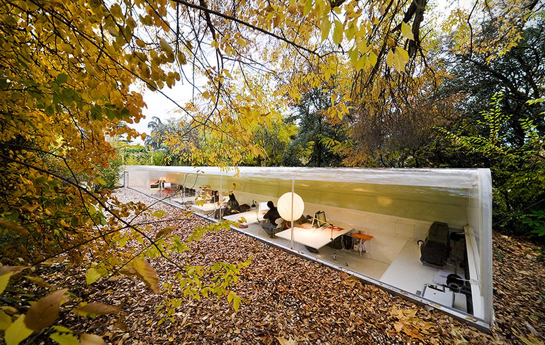 Las oficinas de los arquitectos españoles SelgasCano. Foto: Iwan Baan