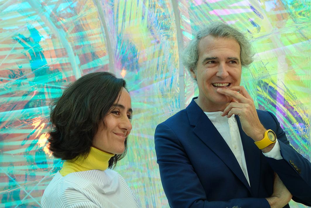 José Selgas y Lucía Cano. Foto: Frank Kaltenbach.