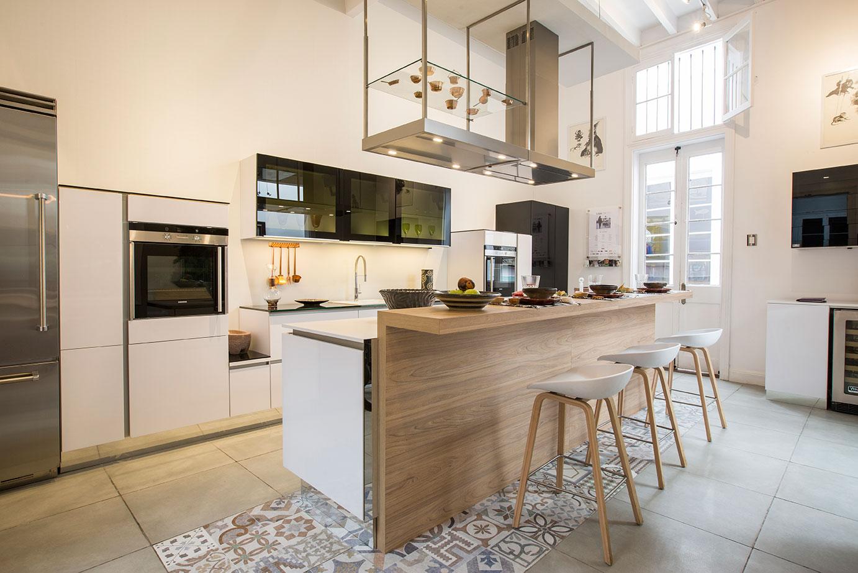 Una cocina natural masisa - Altura de muebles de cocina ...