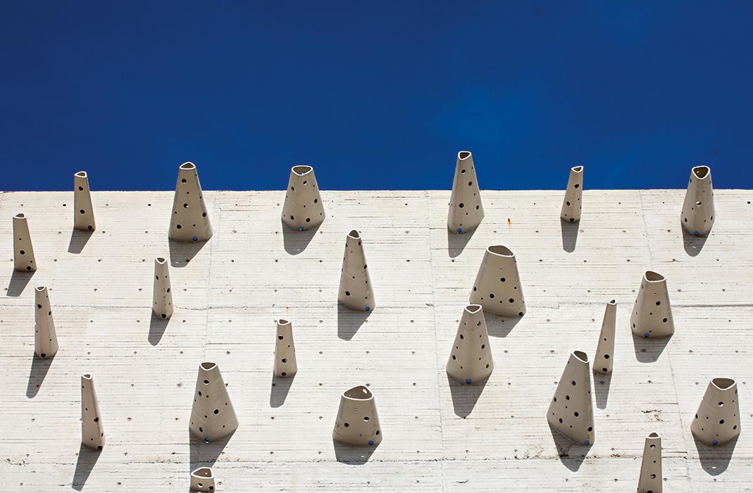 Proyecto: Centro de innovación del cemento y el concreto Argos-EAFIT. Emplazamiento: Medellín.  Autor: Lorenzo Castro. Foto: Sergio Gómez.