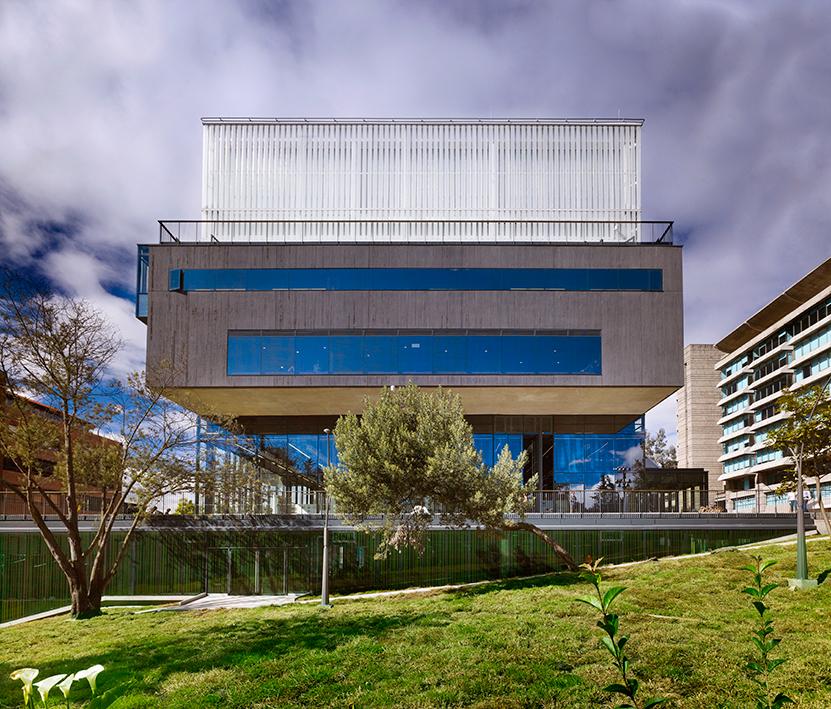 Proyecto: Facultad de artes Universidad Javeriana. Emplazamiento: Bogotá.  Autor:Ricardo La Rotta Caballero. Foto: Andrés Valbuena.