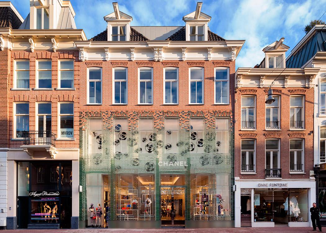 Tienda de Chanel en Ámsterdam.