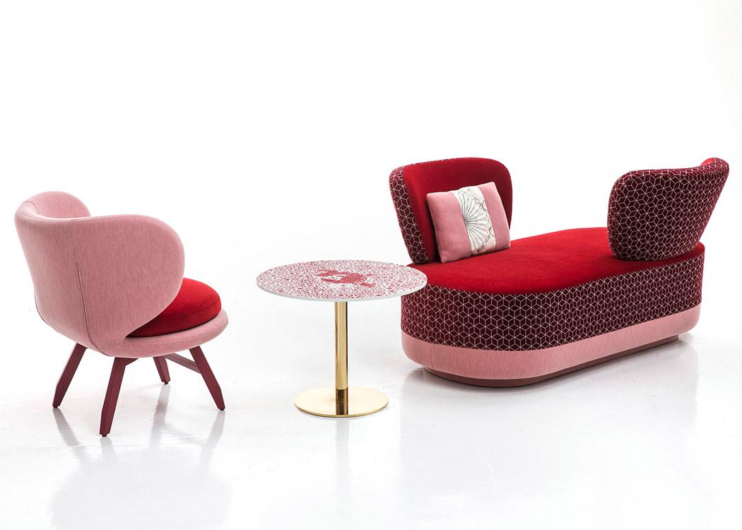 Colección Suchi diseño de Edward Van Vliet par Moroso.