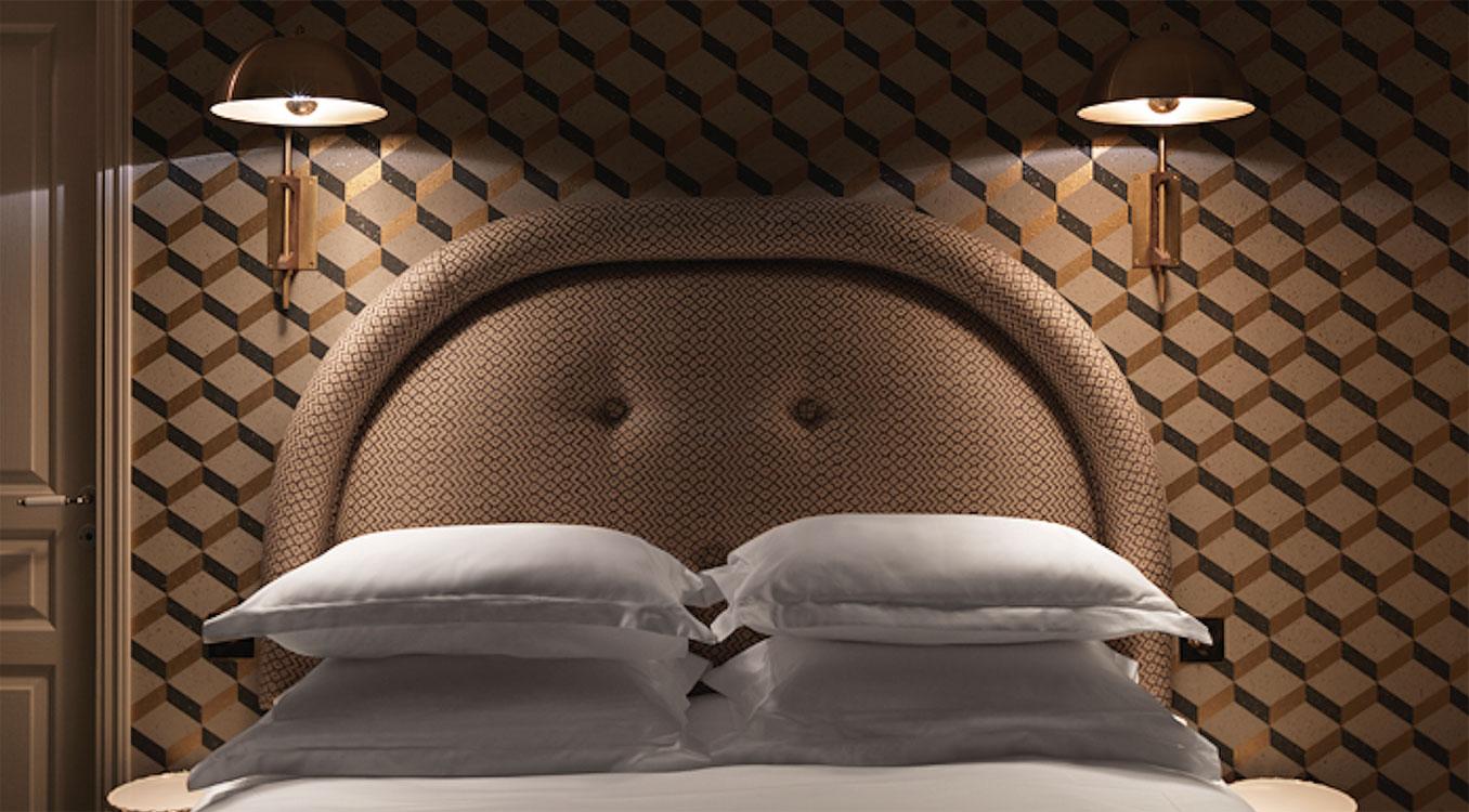 Grand Pigalle Hotel, diseño de Dorothe Meilichzon. Foto:©Kristen Pelou/Paul Bowyer.