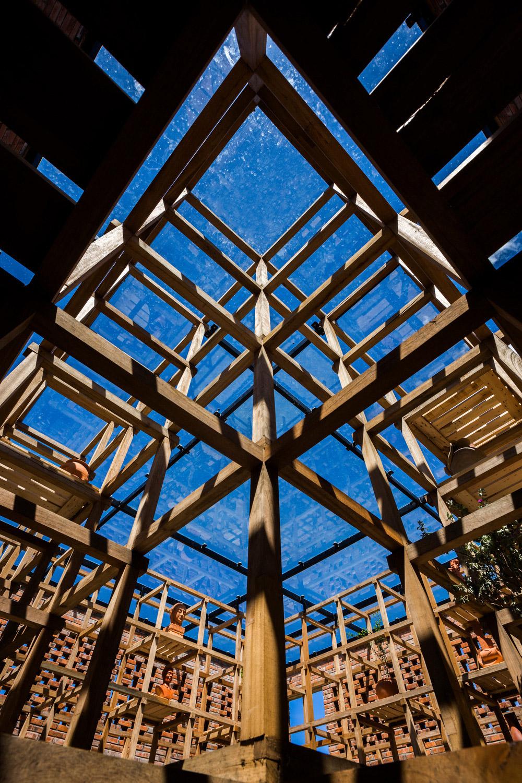 Diseño de Tropical Space. Foto: ©Hiroyuki Oki.