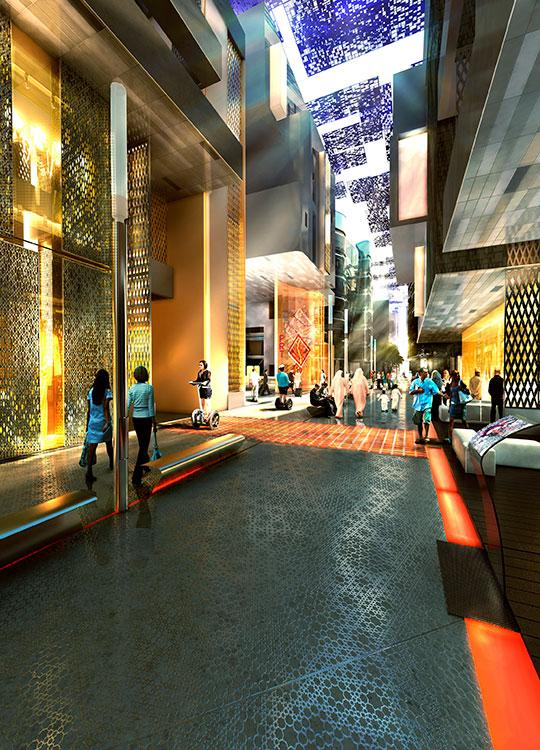 Proyecto:Masdar City Abu Dabi, Emiratos Árabes Arquitecto: Foster & Partners.