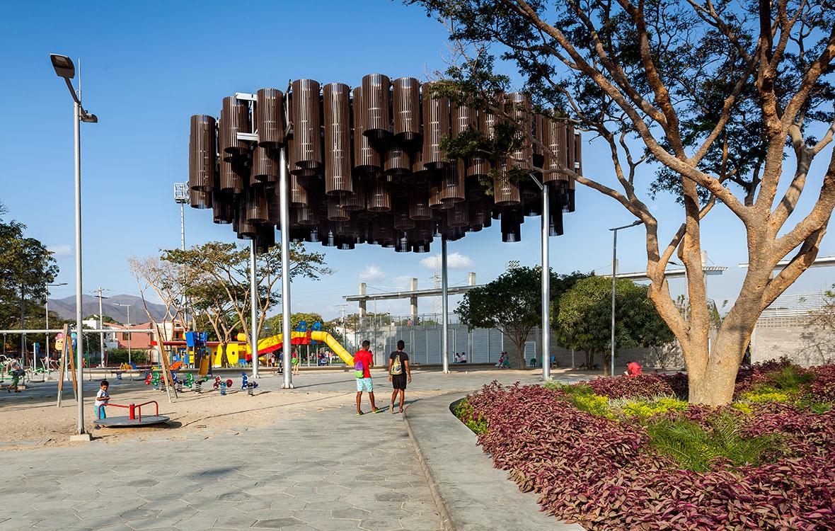 Diseño El Equipo Mazzanti y AEV Arquitectos. Foto: © Rodrigo Dávila.