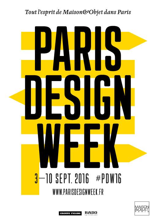 Nueva imagen de la semana del diseño de París, creada por deValence.