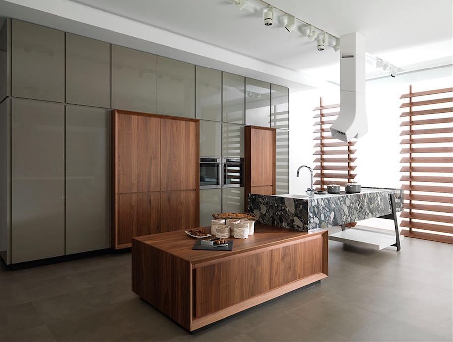 Esta cocina, ref. Trotter, de la serie Emotions, ha sido galardonada con el premio Good Design, otorgado por el Museo Athenaeum de Arquitectura y Diseño de Chicago, en colaboración con el Centro Europeo de Arquitectura, Arte, Diseño y Estudios Urbanos.