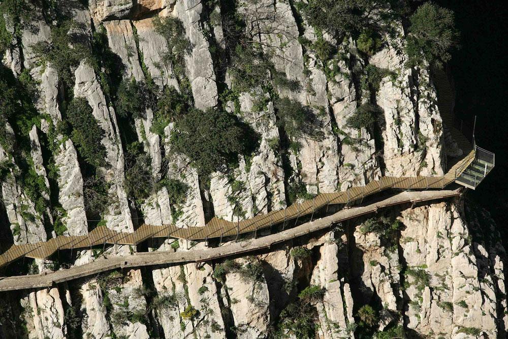Caminito del Rey, Luis Machuca Santa-Cruz. Foto: Juan María Álvarez Espada.