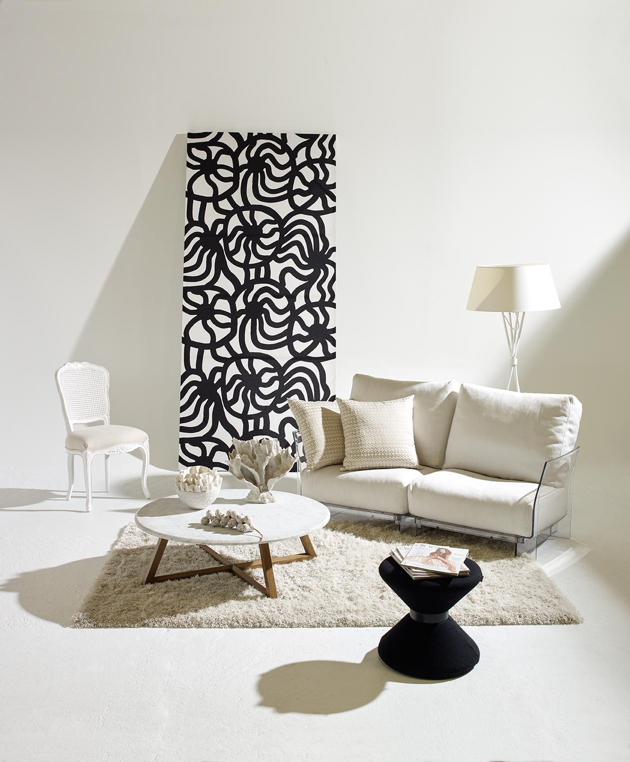 El mármol puede ser una pieza funcional y elegante a la vez.