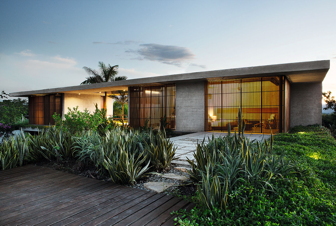 racionalismo tropical arquitectura de concreto y madera