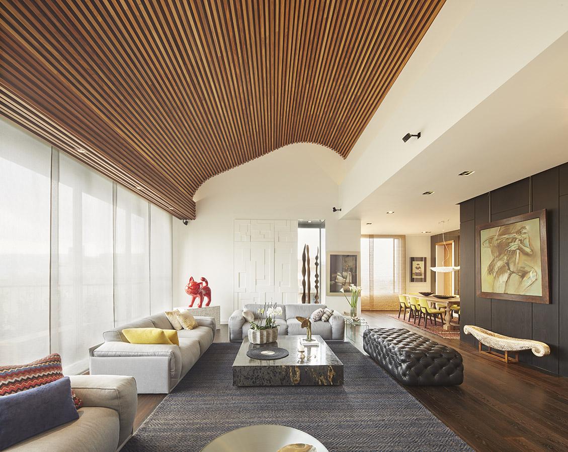 Interiorismo Hecho A Medida En Apartamento Bogotano # Muebles William Piedrahita