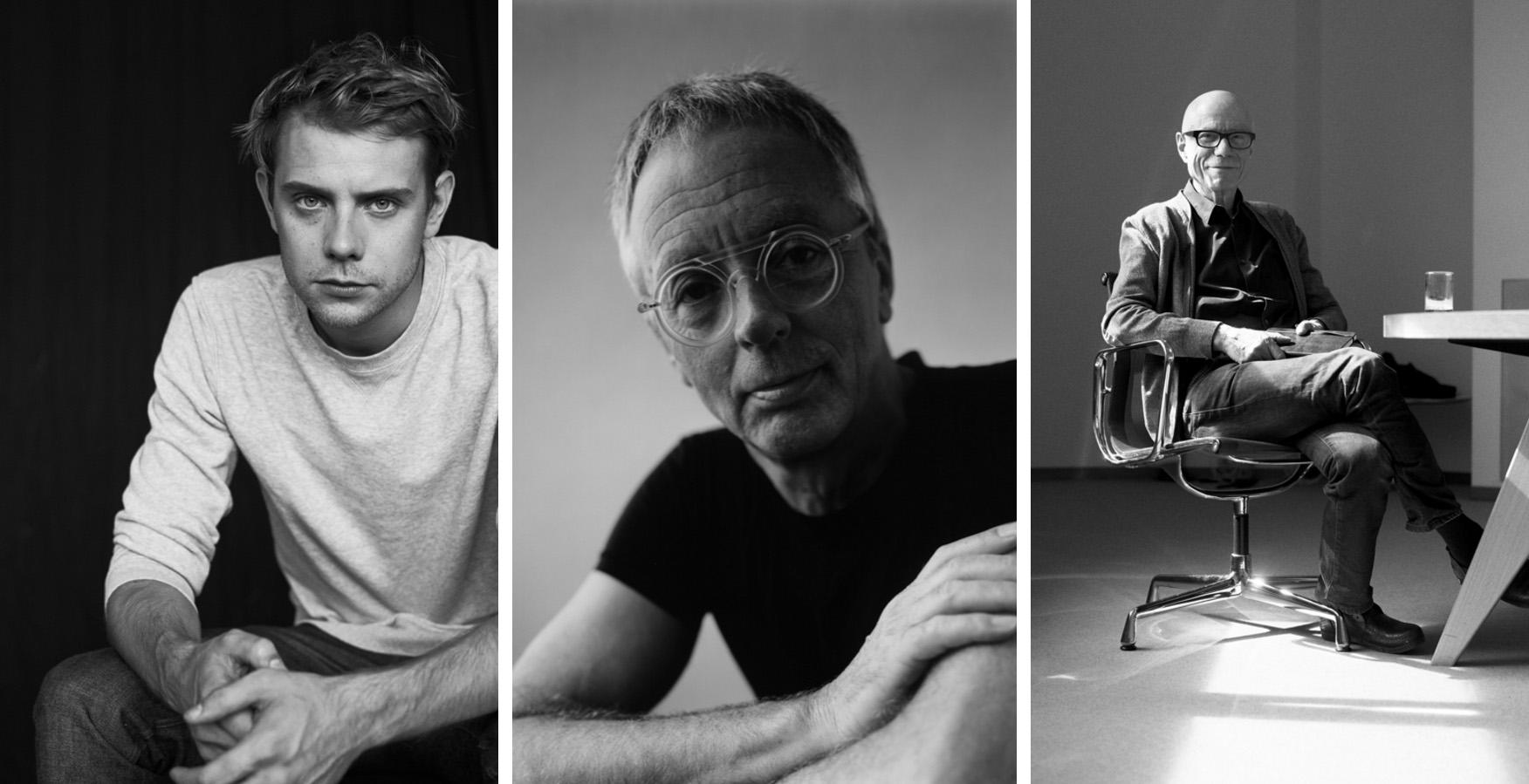 Los jurados: Jonathan Anderson, director creativo de Loewe, Gijs Bakker, artista y joyero y Rolf Fehlbaum de Vitra.