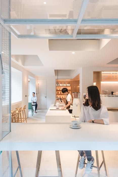 Café APF en China, diseño de Lukstudio.