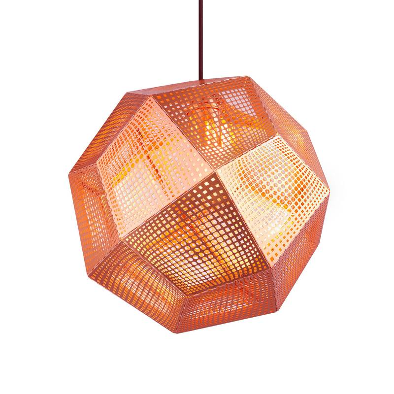 Etch Copper de Tom Dixon. Disponible en Tienda Axxis