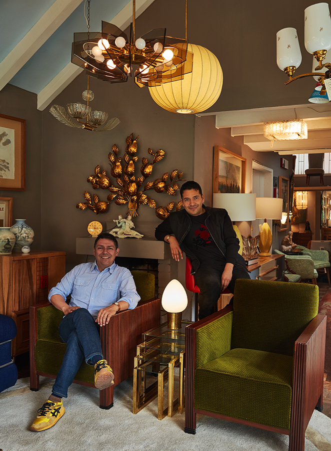 Herney Gallego y Juan Nieto en Dessvan.