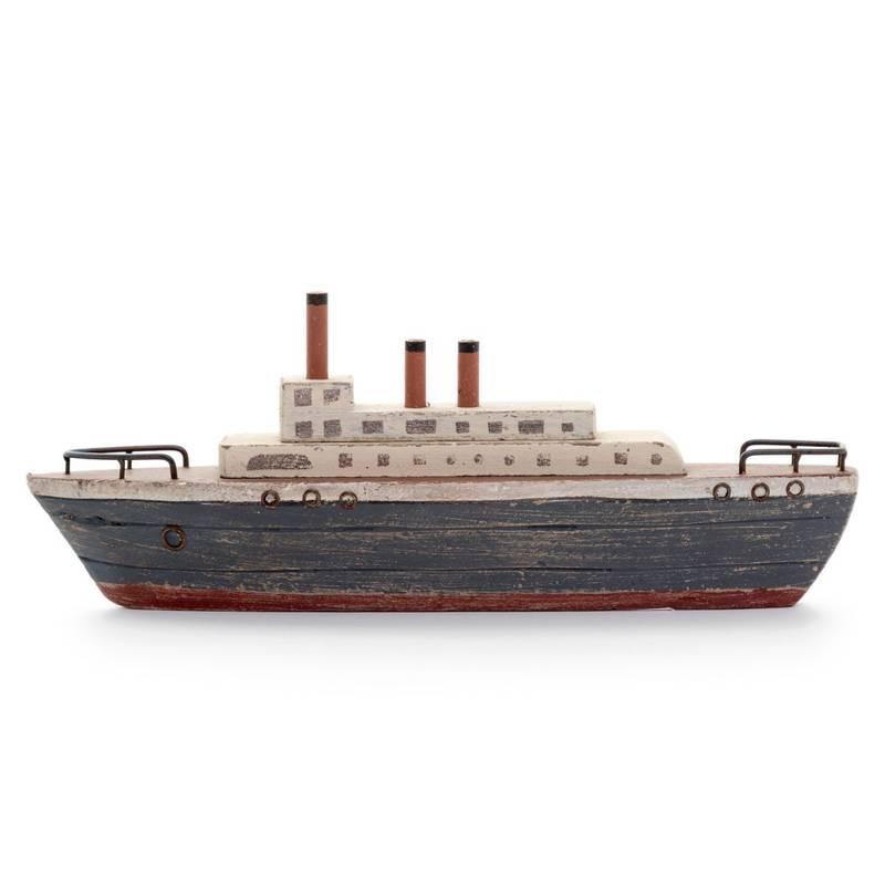 Barco Madera Titanic de Dearboleda. Disponible en Tienda Axxis.