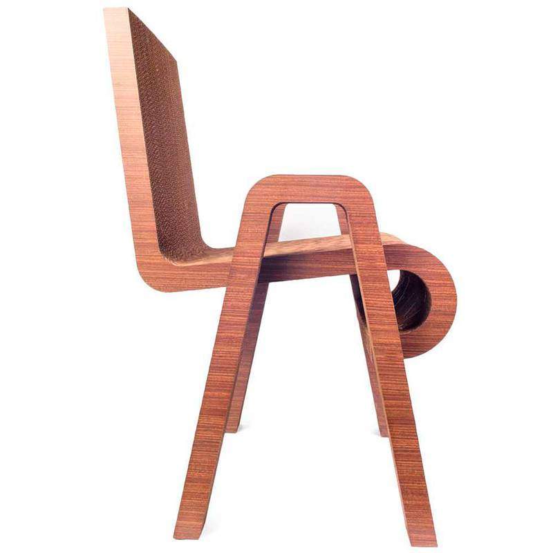 Serial Chair de Cartonmade. Disponible en Tienda Axxis.