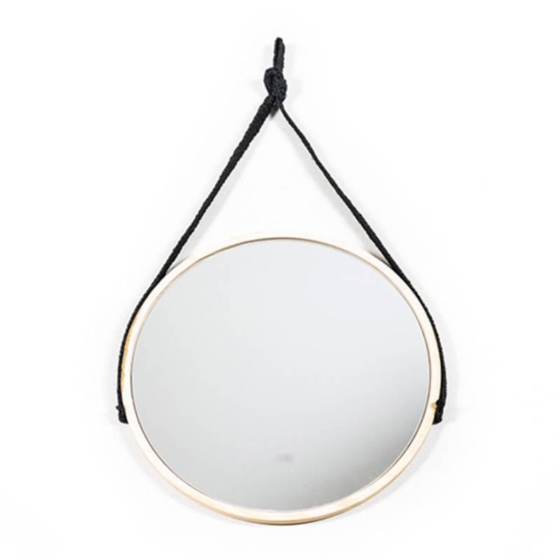 Espejo Círculo de 5am. Disponible en Tienda Axxis.