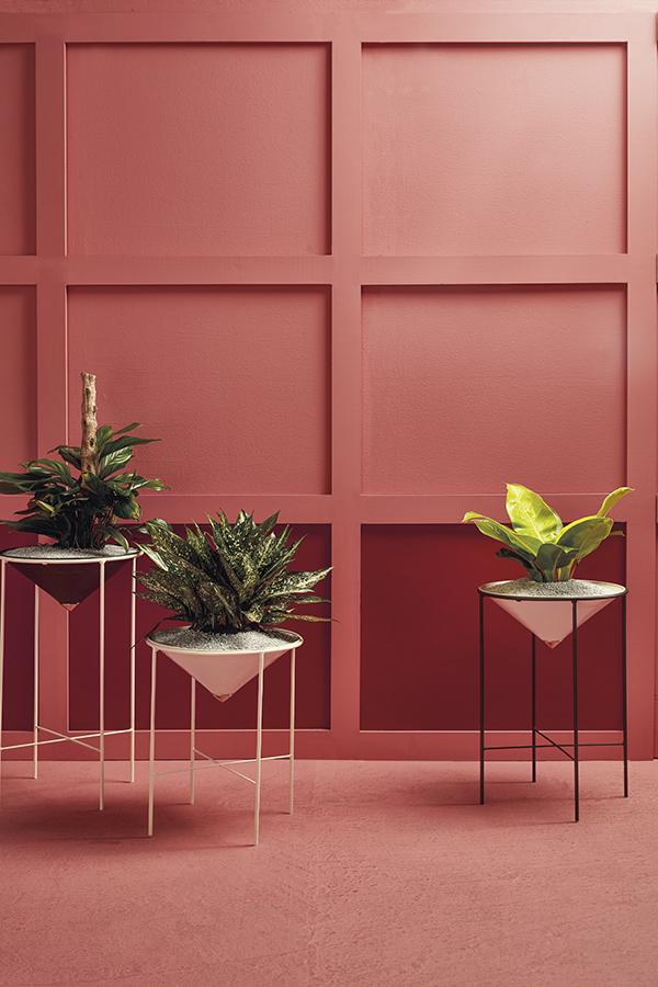 El set de macetas Ártica en hierro de Susana Mejia para Diamantina y La Perla, le brinda al un usuario joven y de gustos de tendencias contemporánea,  una opción de diseño de carácter decorativo y funcional.