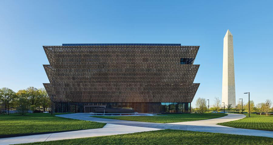 Museo Smithsonian en Washington D.C. Diseño de Adjaye Associates.
