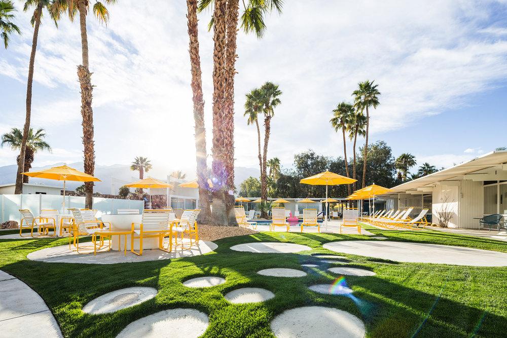 El The Monkey Tree Hotel en Palm Springs, es uno de los lugares seleccionados por la Semana del Modernismo de California. Foto: Jake Holt.