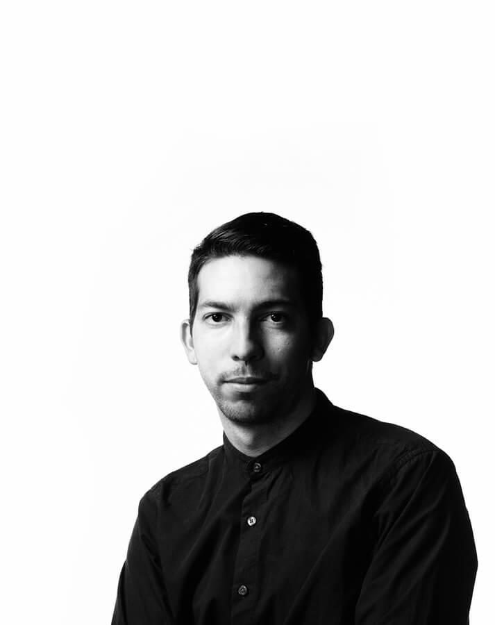 El diseñador David Del Valle.