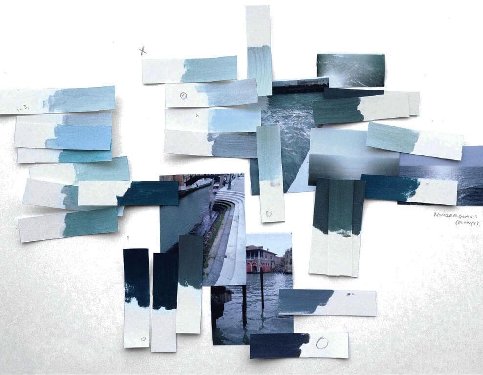 Boceto de Flow (t) para Wonderglass.