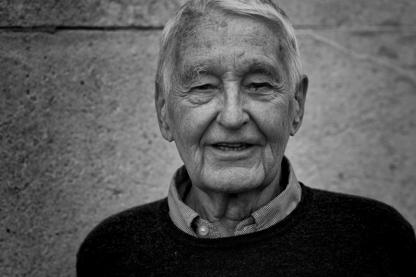 El arquitecto norteamericano radicado en Gran Bretaña, Neave Brown.