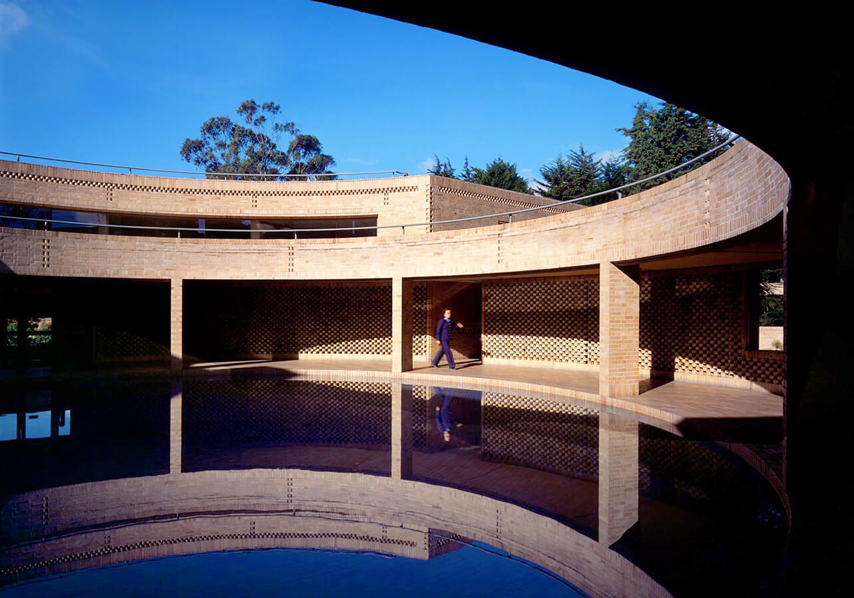 Edificio de Posgrados en Ciencias Humanas, Universidad Nacional de Colombia. ©Fundación Rogelio Salmona.