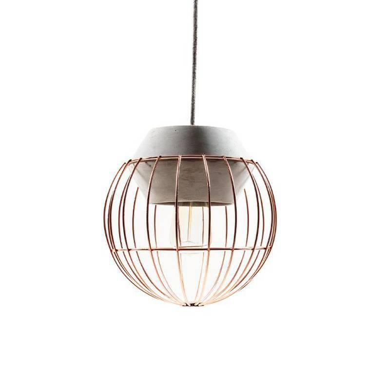 Lámpara de techo Esfera de 5am. Disponible en Tienda Axxis.