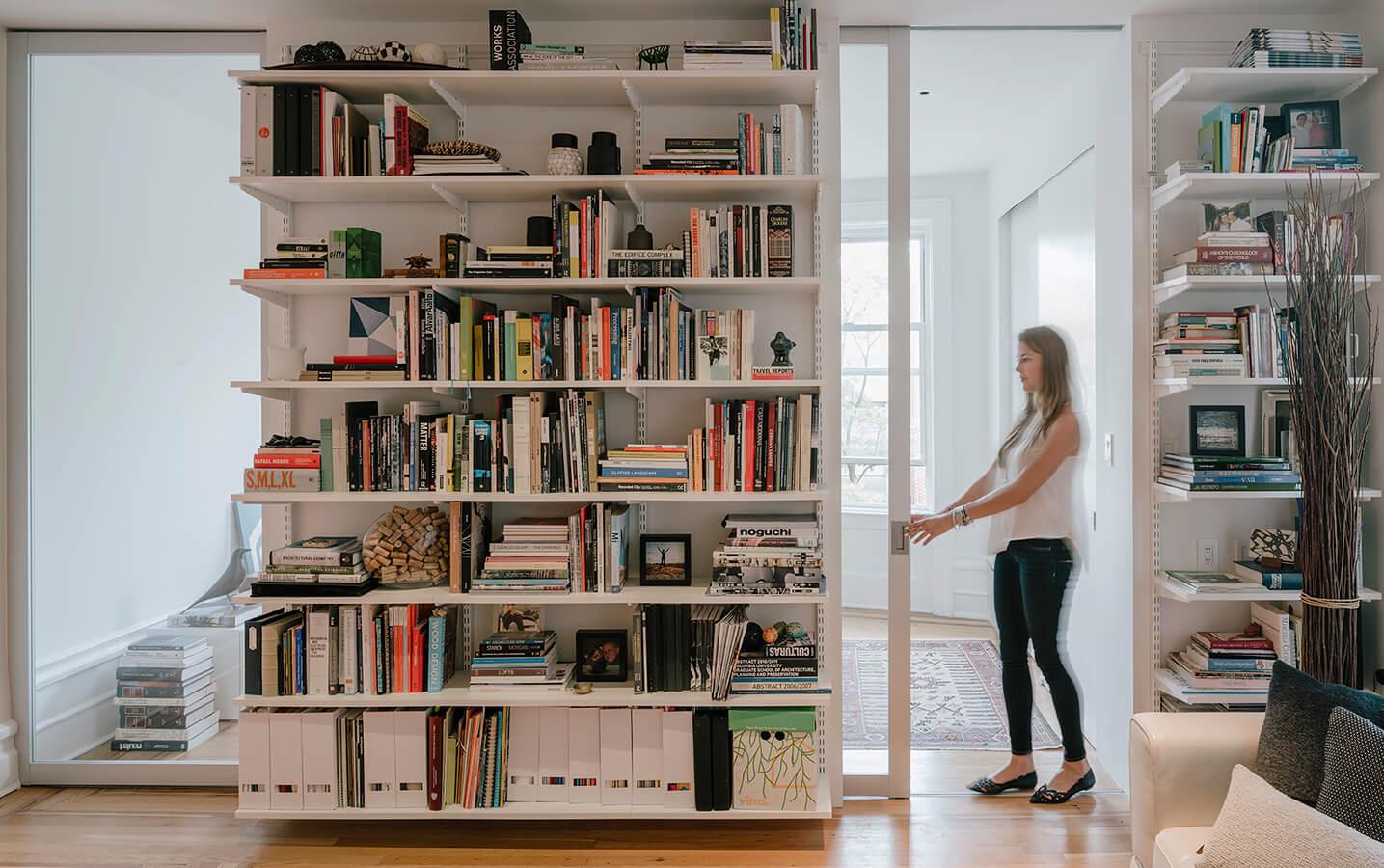 Pasado y presente: 75 metros cuadrados en Nueva York