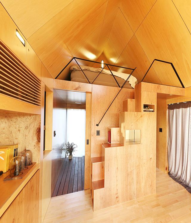 MICROCASAS COREANAS Para suplir la demanda de hospedaje durante los Juegos Olímpicos de Invierno 2018, la provincia de Gangwon, en Corea del Sur, está implementando viviendas para huéspedes que en tan solo 19,8 metros cuadrados proporcionan todo el confort.