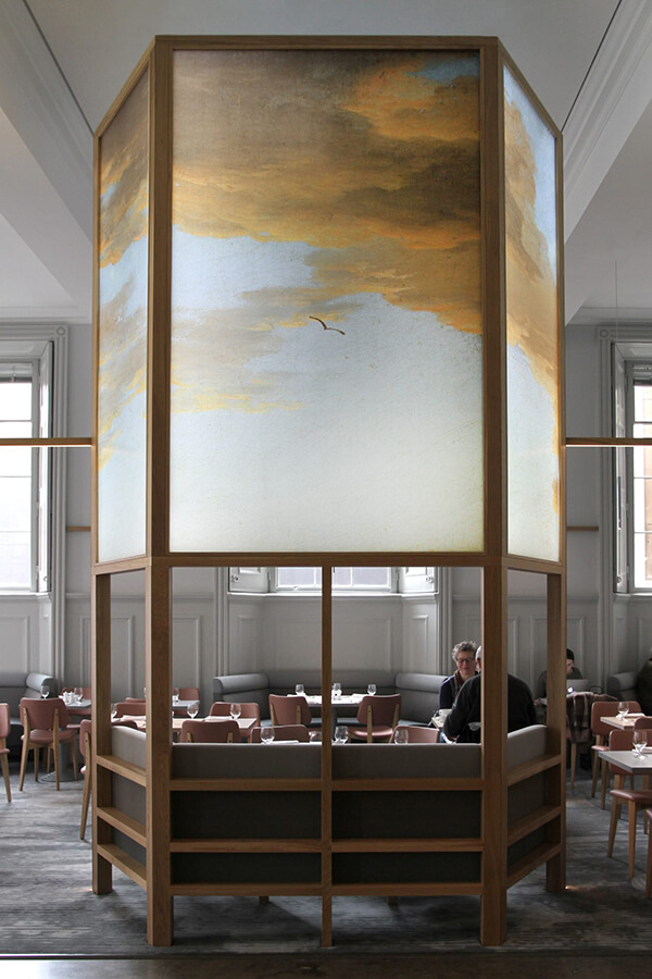 The National Gallery restaurant.
