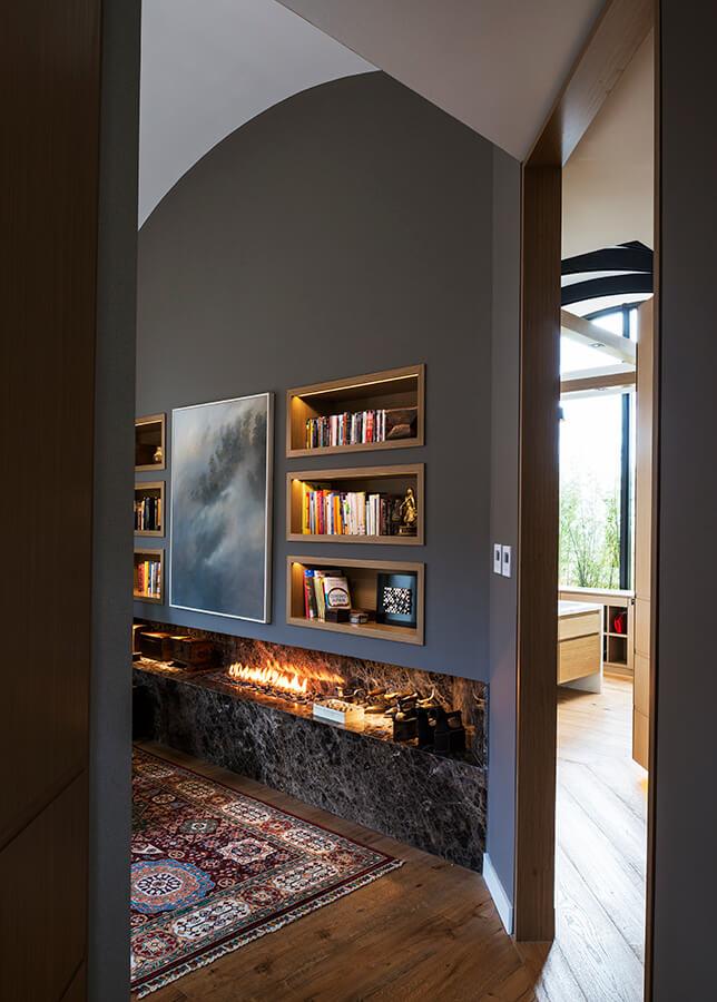 El elemento fuego se extiende a diferentes espacios, puesto que permite que la energía circule.