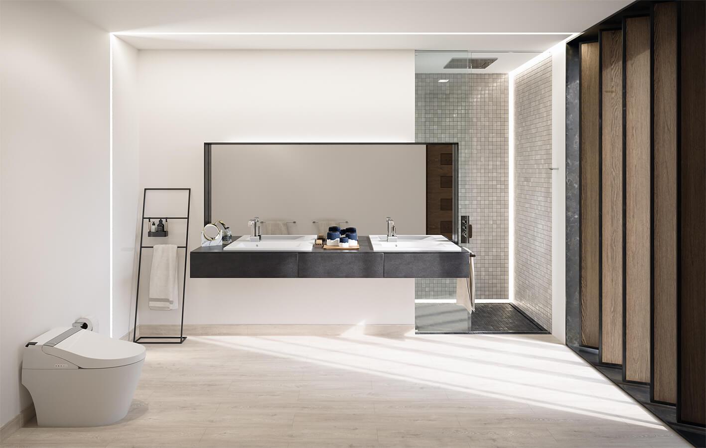 El tema de la pulcritud, que todo se vea impecable, siempre es importante –más en un ambiente como el baño–.  La marca estadounidense especializada en artículos de lujo para baños, American Standard va más allá con el desarrollo de piezas de alta tecnología y diseño.