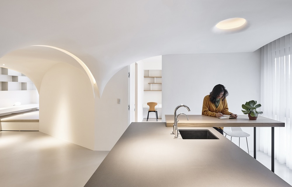 Apartamento Sunny (Taichung, Taiwan) por Very Studio y Che Foto: Studio Mill Space + Te-Fan Wang + Very Studio + Che Wang Architects