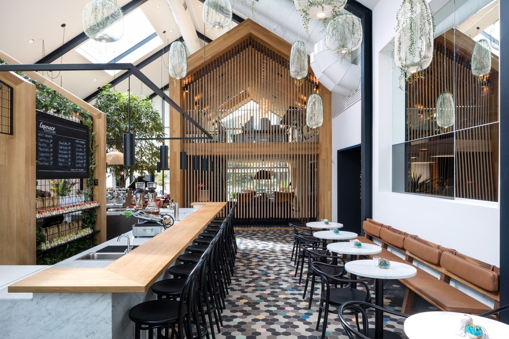 Harrison Urby – Entrance Café por Concrete.