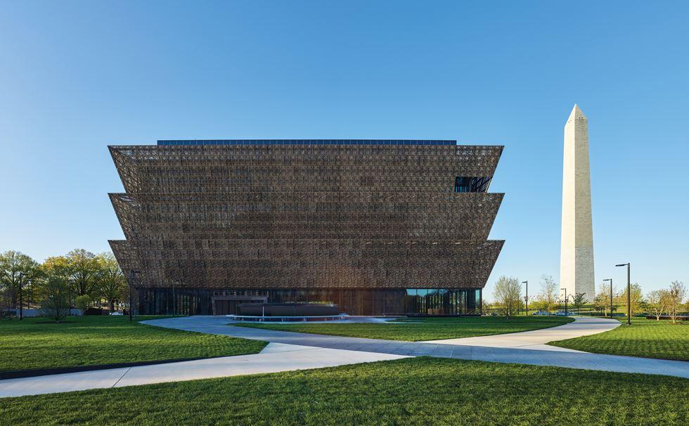 Museo Nacional Smithsonian de Historia y Cultura Afroamericana en Washington DC