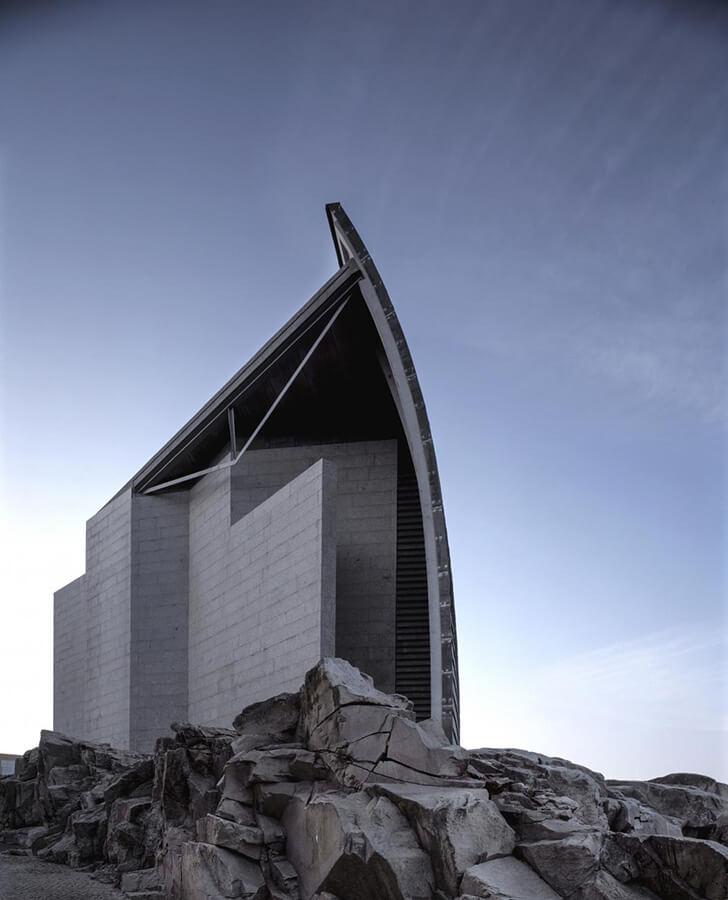 Domus: La Casa del Hombre. Foto. Hisao Suzuki.